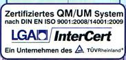 Zertifikat der LGA